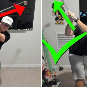Stop Going Across The Line At The Top Of Your Golf Swing With This Simple Drill