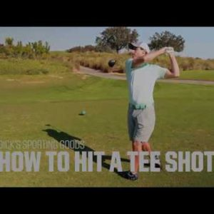 Golf Basics: How to Hit a Tee Shot