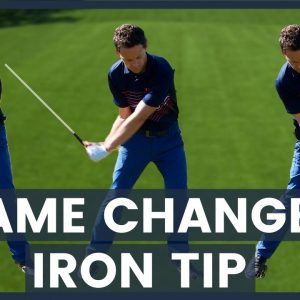 Hit the ball then the turf - with this GAME CHANGER golf tip
