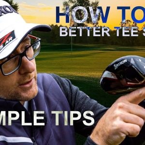 HOW TO HIT BETTER GOLF TEE SHOTS 3 Simple Tips