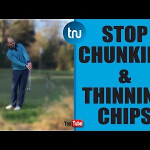 HOW TO HIT CHIP SHOTS AROUND THE GREEN - SIMPLE METHOD