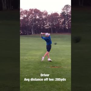Jack Breutsch-Fall 2020-Face on-Driver Golf Swing