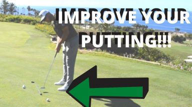 HOLE MORE PUTTS BY MANAGING YOUR PUTTING STROKE EASILY!!!! IMPROVE IN 99 SECONDS