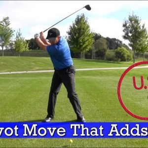 The Power Pivot Move - This Added 20 Yards to a Student's Driver! (Driver Tips)