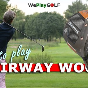 How to hit your fairway wood off the tee and off the ground - A golf lesson