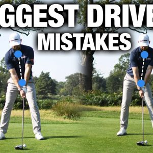 3 Driving Mistakes ALL GOLFERS Make In Their Golf Swing! | ME AND MY GOLF