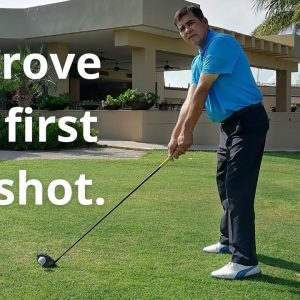 GOLF LESSONS - MENTAL - THE FIRST TEE SHOT