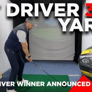 HIT DRIVER 300 YARDS + MY DRIVER GIVEAWAY ANNOUNCEMENT