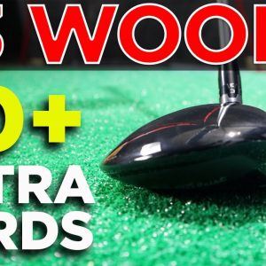 HIT YOUR 3 WOOD OVER 30 YARDS LONGER OFF THE TEE