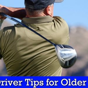 How to Hit Driver for Seniors - Vertical Line Golf Swing