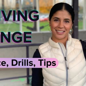 Driving Range Golf Drills and Tips | Practice with Purpose | Beginner Golfer