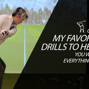 One of My Favorite Drills - Map Out Downswing Drill to Improve EVERYTHING!!!