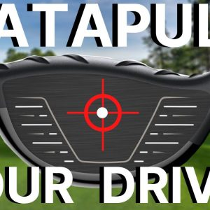 EFFORTLESS GOLF SWING - Using the CATAPULT METHOD Learn to Hit Your driver straight and far