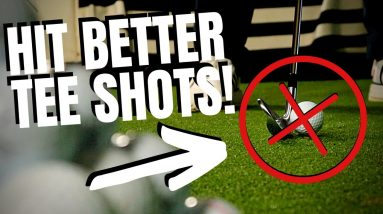ONE SIMPLE TEE HEIGHT TIP TO HIT BETTER TEE SHOTS!