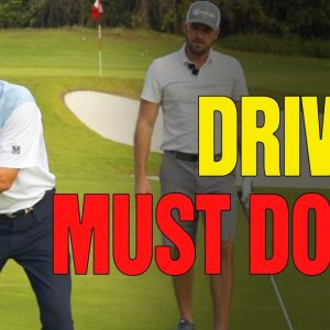 [DRIVER MUST DO'S] - Start The Golf Downswing With Driver (With Eric Cogorno Golf)