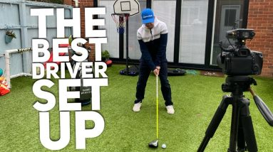 The BEST DRIVER SET UP...to help you hit the ball further and straighter