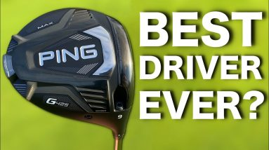 The STRAIGHTEST driver I've ever tested | PING G425 DRIVER REVIEW