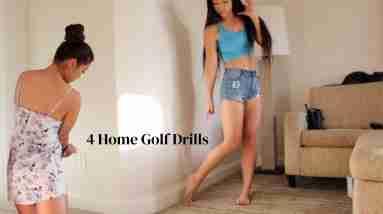 At Home Golf Drills