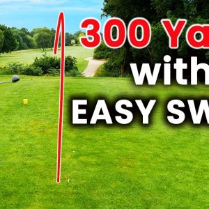 How to Hit the Ball Further in Golf with an EASY GOLF SWING - These GOLF TIPS Just Work!