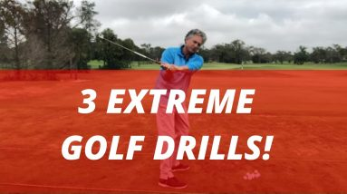 3 Extreme Golf Drills! Go To The Extreme to Improve Your Game! PGA Golf Professional Jess Frank