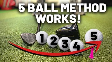 PERFECT BALL POSITION & STANCE THAT MAKES THE GOLF SWING SIMPLE
