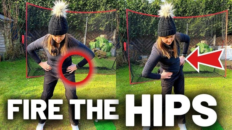 WHY YOU CANT FIRE YOUR HIPS IN THE GOLF SWING
