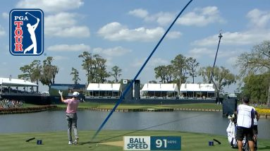 Brendon Todd shanks tee shot on No. 17 at THE PLAYERS