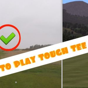 HOW TO HIT THOSE TOUGH TEE SHOTS 🔥