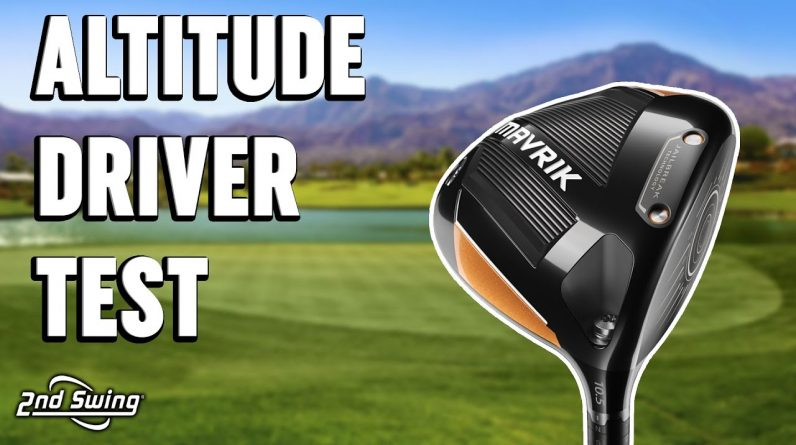 The Impact of Altitude on Golf Shots | Hitting Driver At Different Altitudes