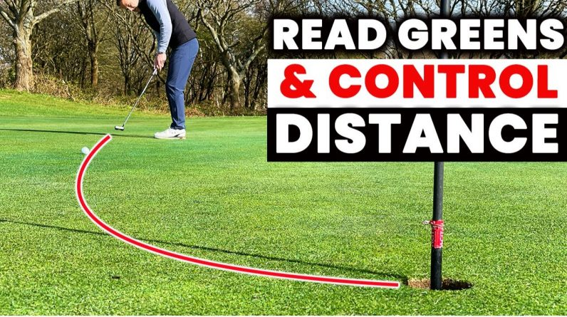 This GREEN READING and DISTANCE CONTROL Tip will a game changer for your putting | Danny Maude
