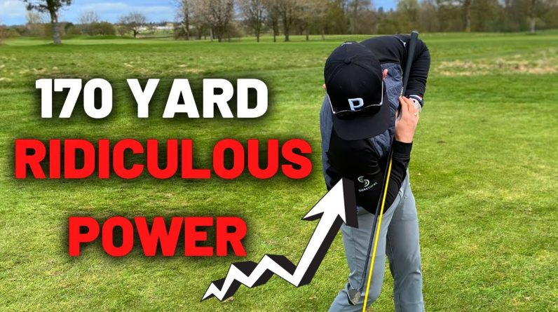 USE THIS! 7 IRON WILL NOW CARRY 170 HIGH POWER with RIDICULOUSLY LOW EFFORT GOLF SWING