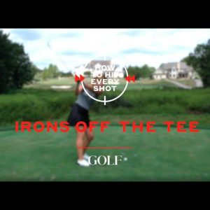 How to hit an iron off the tee: 5 tips for teeing off on a par-3