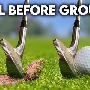 How to Hit Golf Ball First Then the Ground (PERFECT contact every time!)