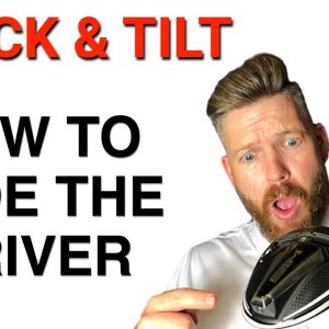 STACK & TILT - HOW TO FADE THE DRIVER | GOLF TIPS | LESSON 176