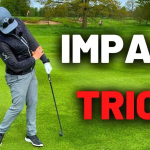 Come into impact like this to hit GREAT iron and driver shots