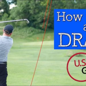 Hit a Draw in 10 Minutes + Bonus Driver Tip! (HOW TO HIT A DRAW)