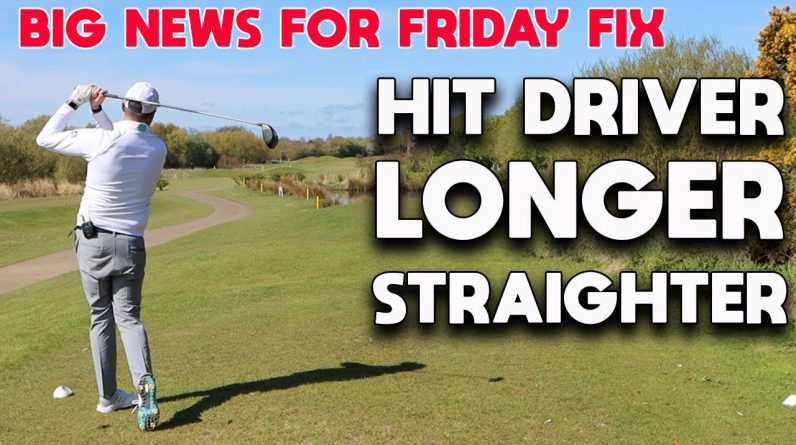 HOW TO HIT YOUR DRIVER LONGER AND STRAIGHTER + BIG NEWS