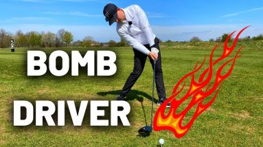 KEEP YOUR HEAD BACK...AND BOMB YOUR DRIVER (VERY SIMPLE!!)