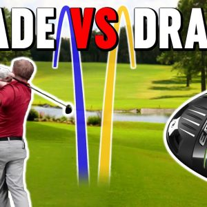 Curving Golf Driver Shots Explained | Draws and Fades Off The Tee