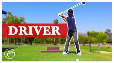 Golf Shallow Swing - Driver lesson