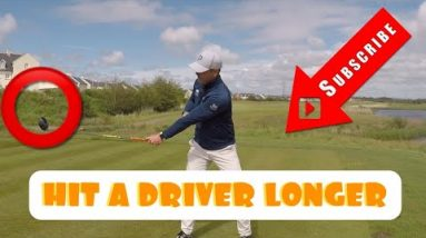 HOW TO HIT A DRIVER LONGER - MORE POWER 💣