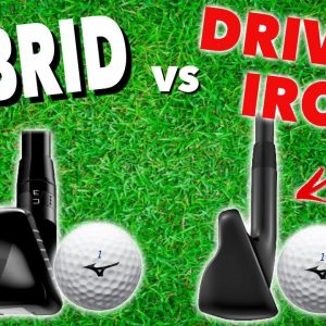 HOW TO HIT YOUR HYBRID OR DRIVING IRON - Simple Golf Tips