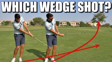 WEDGE CLUB SELECTION IS KEY   Golf Tips