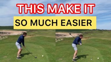 HOW TO HIT YOUR DRIVER STRAIGHT- THIS Makes It Much Easier