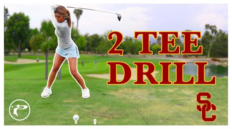 Driver Tips For Beginners - 2 Tee Drill
