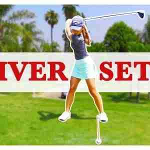 Golf Driver Setup - 3 TIPS FOR MORE DISTANCE!