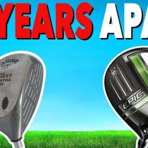 Have Drivers ACTUALLY Got LONGER? 1997 Golf Driver vs 2021 Golf Driver
