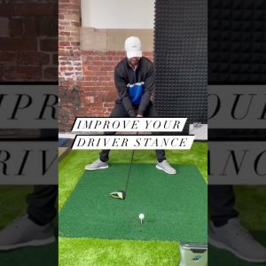 Hit Your Driver More Consistently with THIS Set Up #shorts