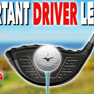 REALLY IMPORTANT DRIVER LESSON....DON'T OVERLOOK! Simple Golf Tips