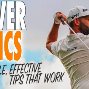 The Key Points To Get You Hitting Driver Longer & Straighter